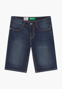 Benetton - Jeansshort - blue denim