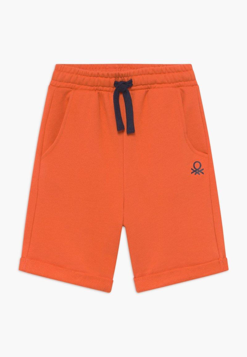 Benetton - BERMUDA - Szorty - orange