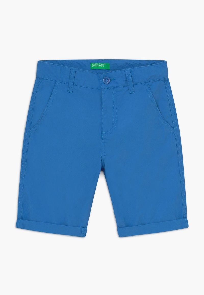 Benetton - BERMUDA - Kraťasy - blue