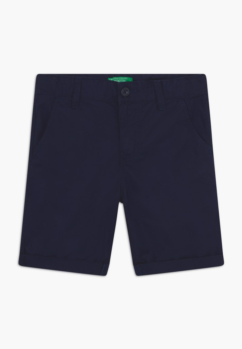 Benetton - BERMUDA - Kraťasy - dark blue