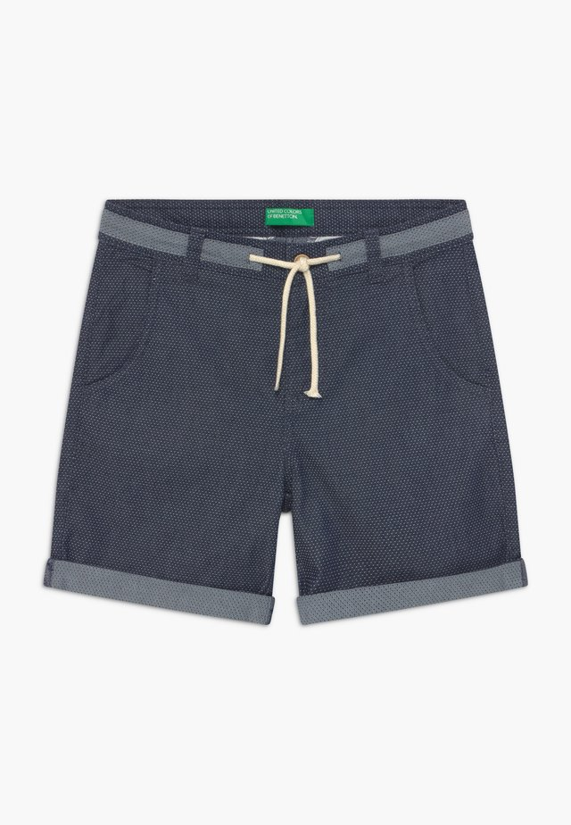 BERMUDA - Denim shorts - grey