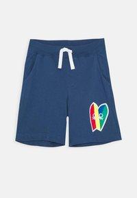 Benetton - BERMUDA - Teplákové kalhoty - dark blue - 0