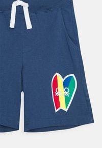 Benetton - BERMUDA - Teplákové kalhoty - dark blue - 2