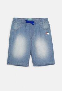 Benetton - BERMUDA - Denim shorts - light blue - 0