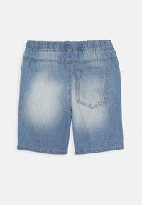 Benetton - BERMUDA - Denim shorts - light blue - 1