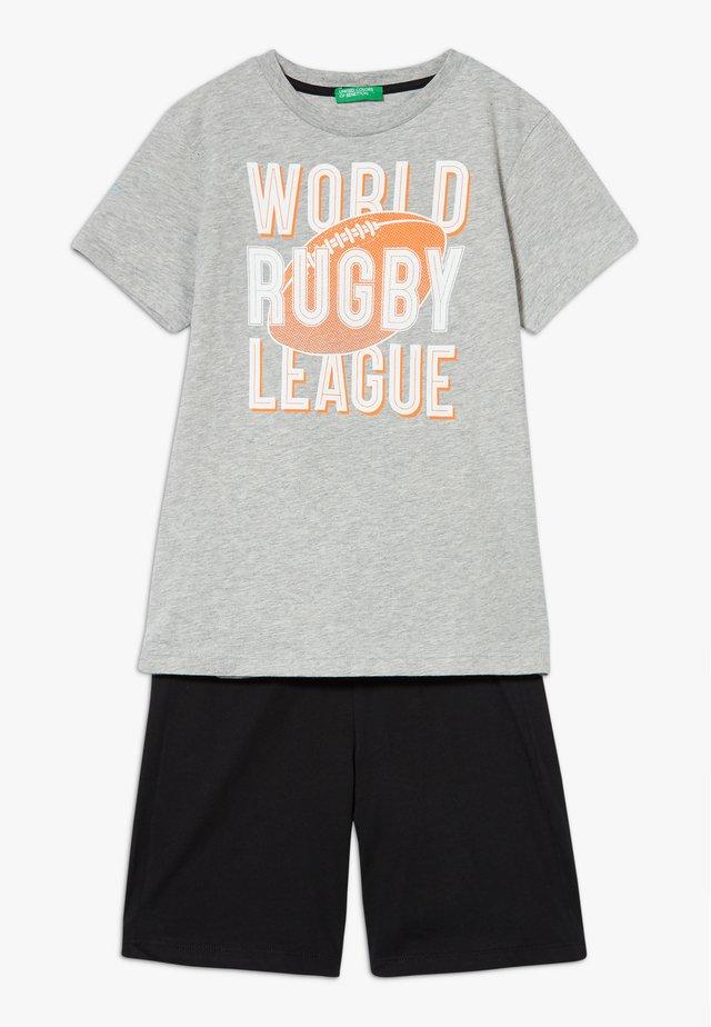 SET - Pantaloni sportivi - grey