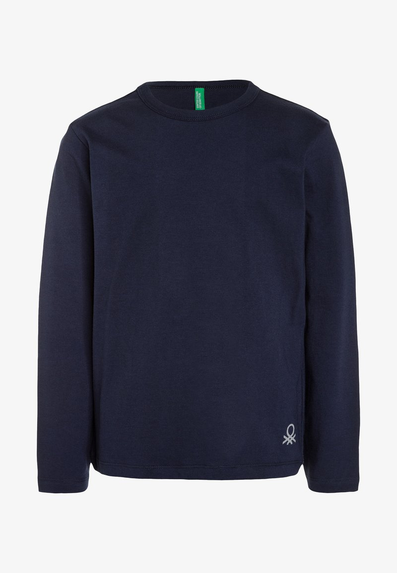 Benetton - Long sleeved top - dark blue