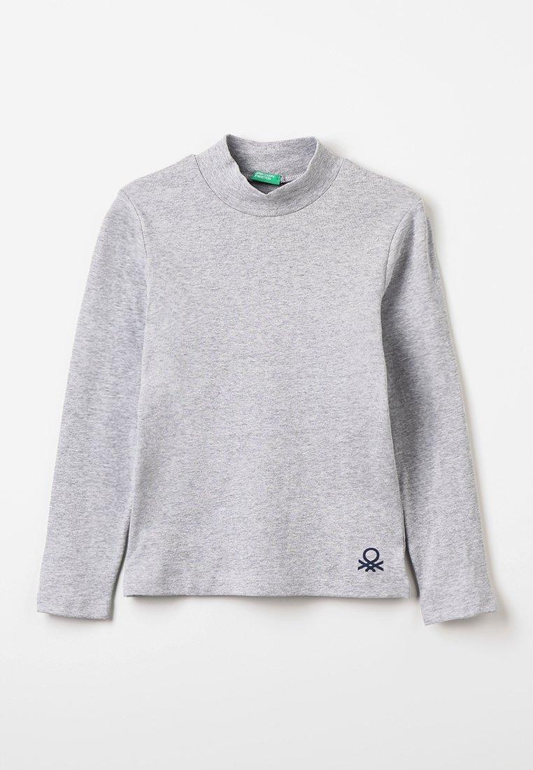 Benetton - Langarmshirt - mottled light grey