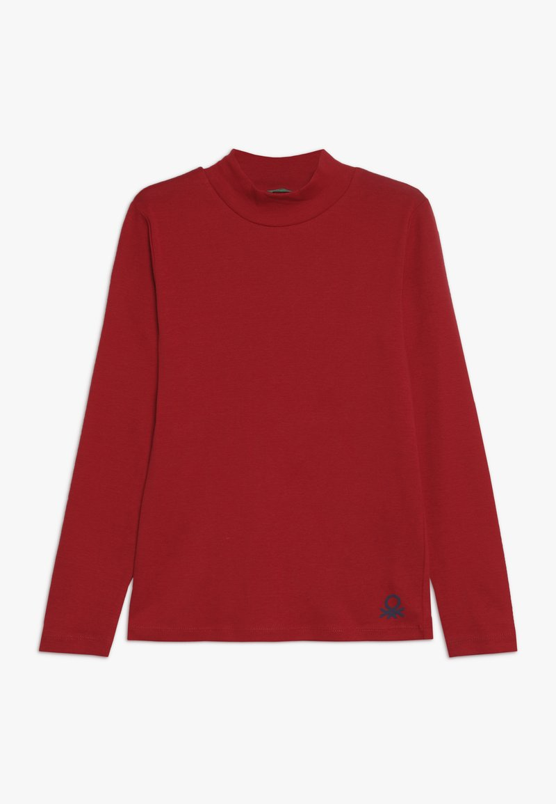 Benetton - Maglietta a manica lunga - dark red