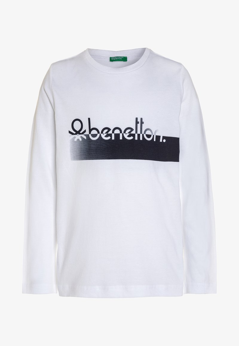 Benetton - Long sleeved top - white