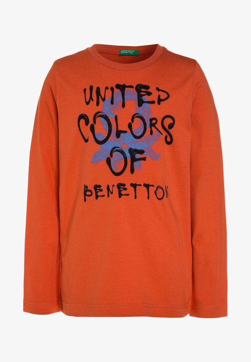 Benetton - Longsleeve - orange