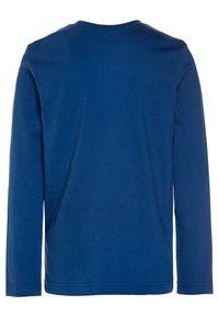 Benetton - Bluzka z długim rękawem - blue - 1