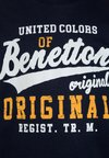 Benetton - Langærmede T-shirts - dark blue