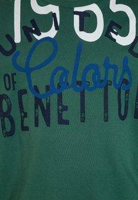 Benetton - Longsleeve - dark green - 2