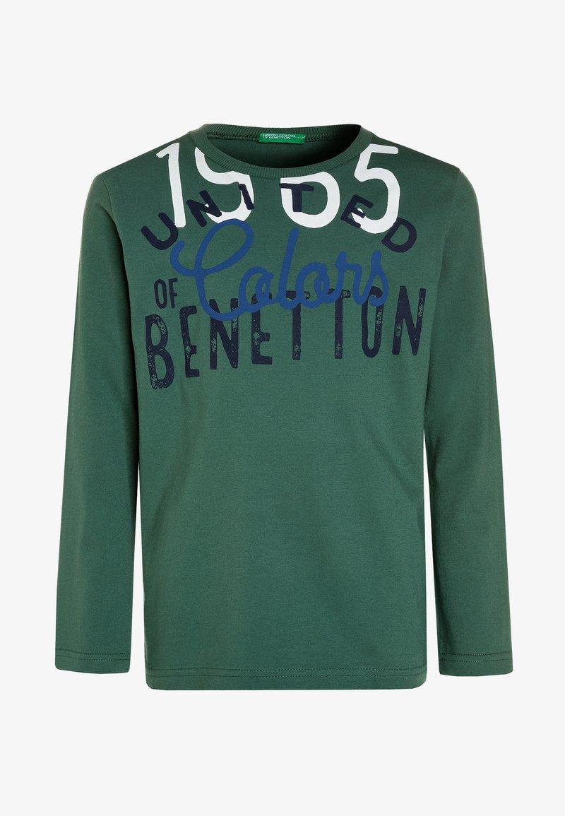 Benetton - Longsleeve - dark green