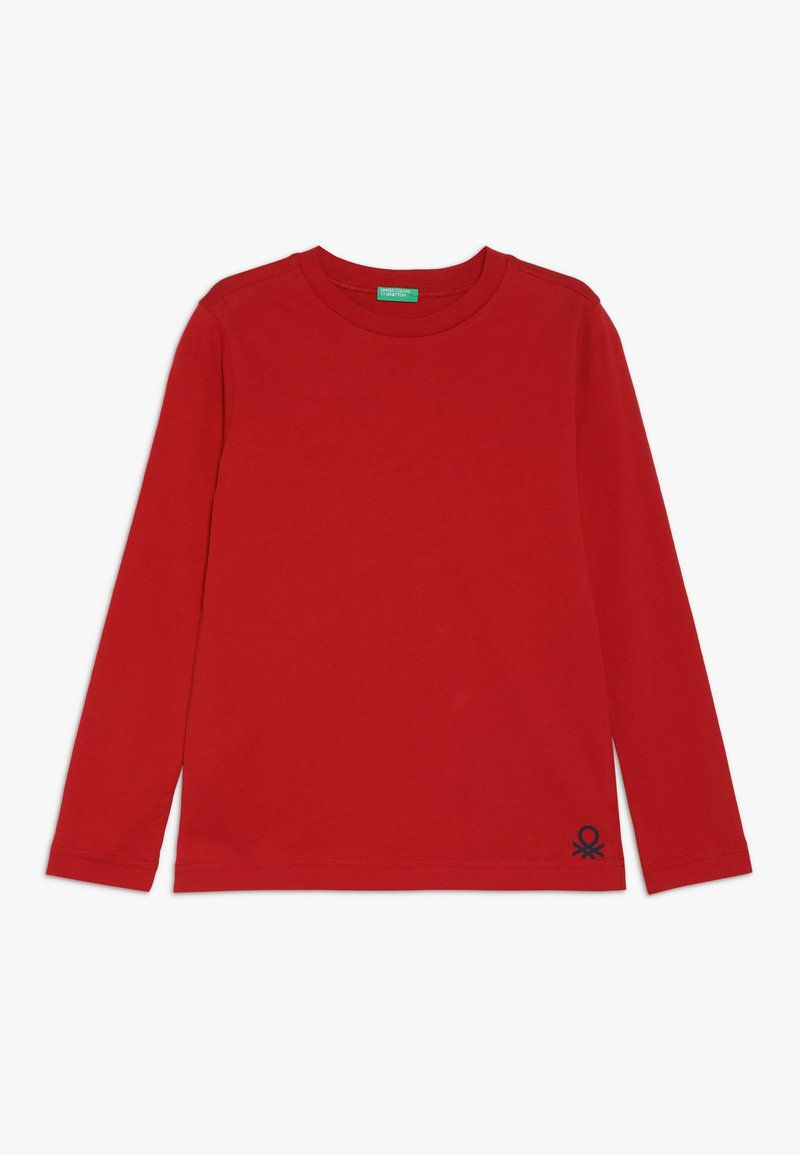 Benetton - Langarmshirt - dark red
