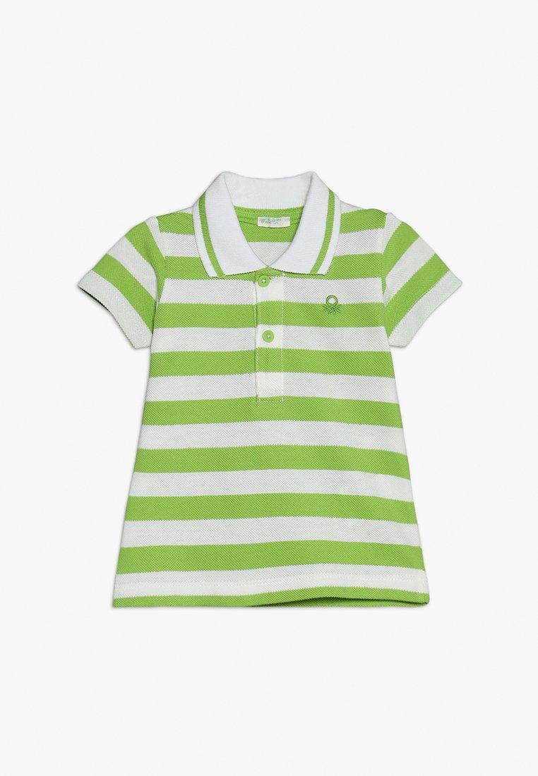 Benetton - Poloshirt - green/white