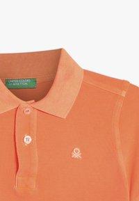 Benetton - Polo shirt - orange - 3