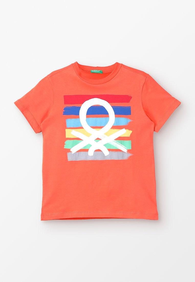 Benetton - T-shirts print - orange