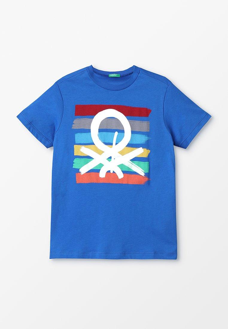 Benetton - T-shirt print - blue