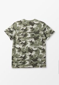 Benetton - T-shirt z nadrukiem - khaki - 1