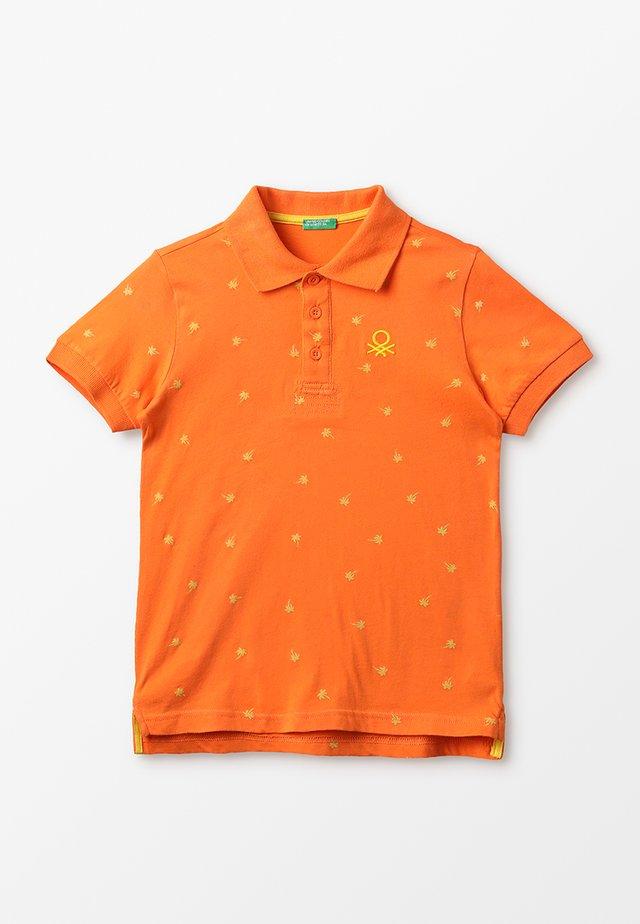 Poloshirt - orange/yellow