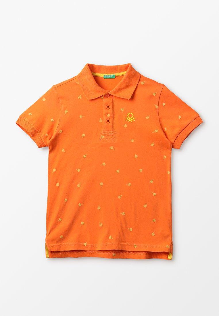 Benetton - Polo shirt - orange/yellow