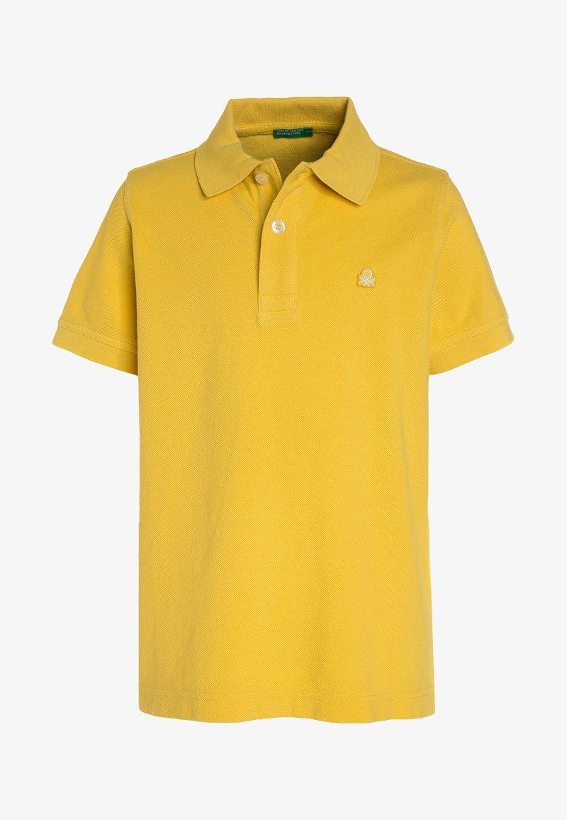 Benetton - Polo - yellow