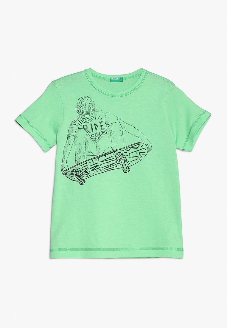 Benetton - T-shirts med print - green