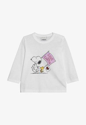SNOOPY - Camiseta de manga larga - white