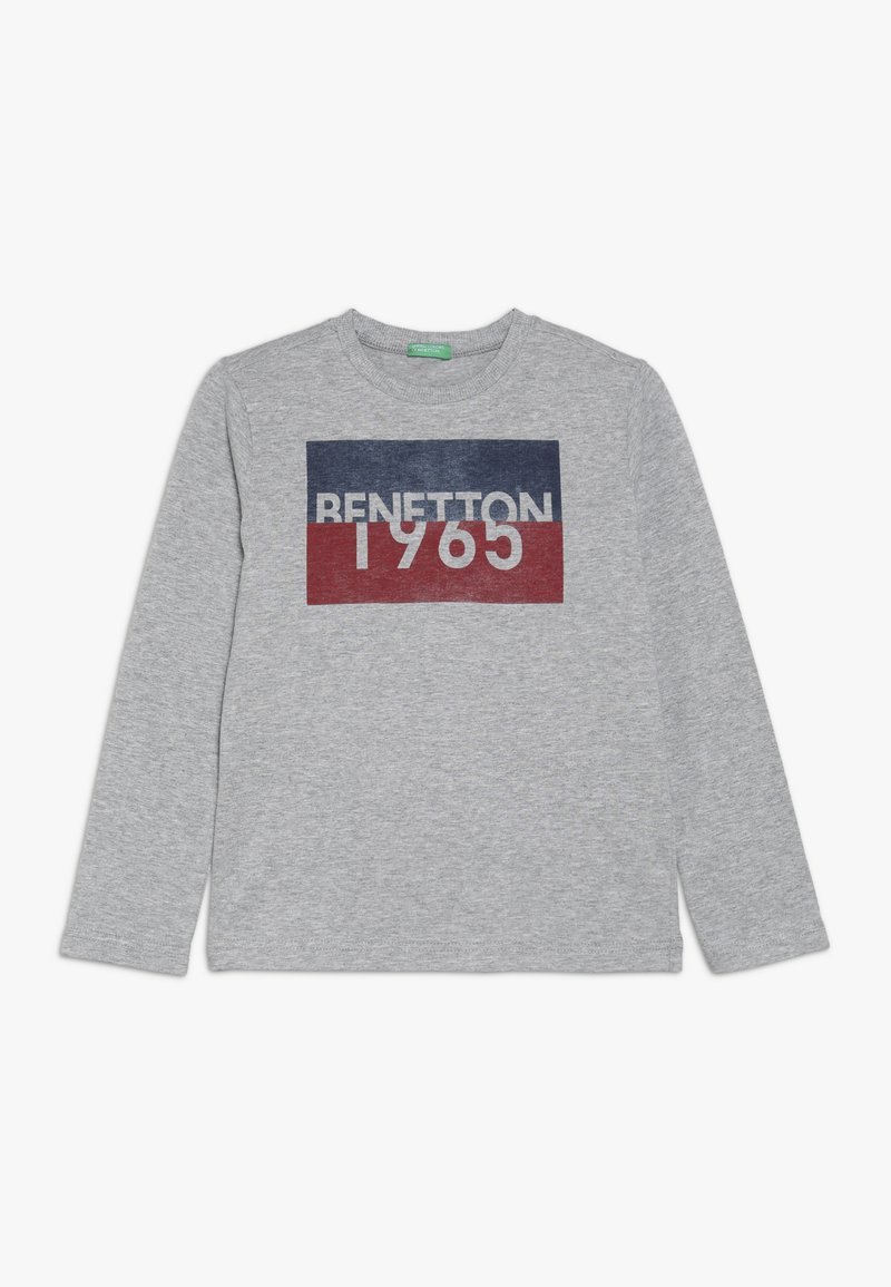 Benetton - Long sleeved top - grey
