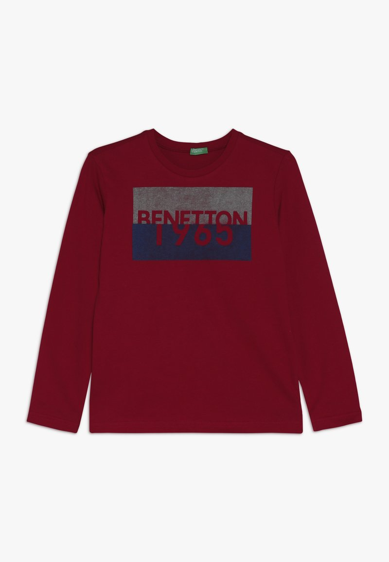 Benetton - Langærmede T-shirts - red