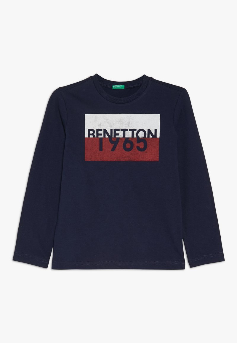 Benetton - Langarmshirt - dark blue
