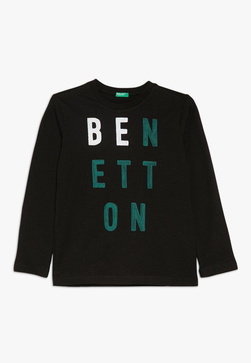 Benetton - Langarmshirt - black