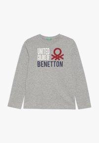 Benetton - T-shirt à manches longues - grey - 0