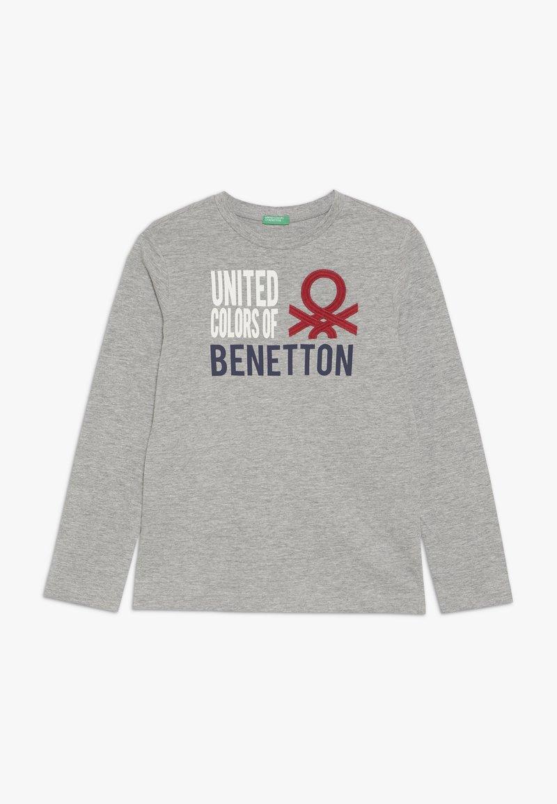 Benetton - T-shirt à manches longues - grey