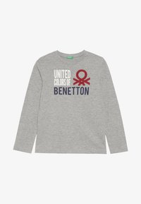 Benetton - T-shirt à manches longues - grey - 2