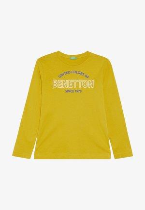 Bluzka z długim rękawem - yellow