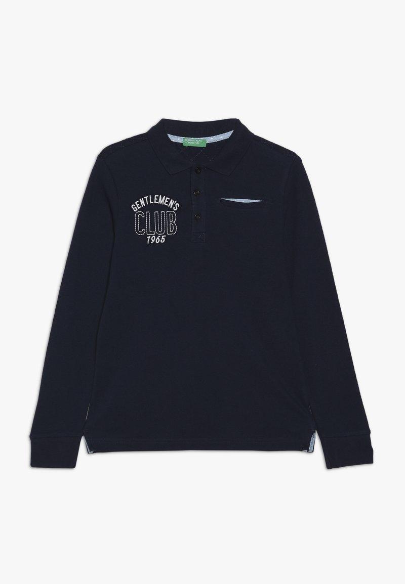 Benetton - Polo - dark blue
