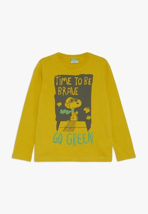 LONG SLEEVES - Top s dlouhým rukávem - dark yellow