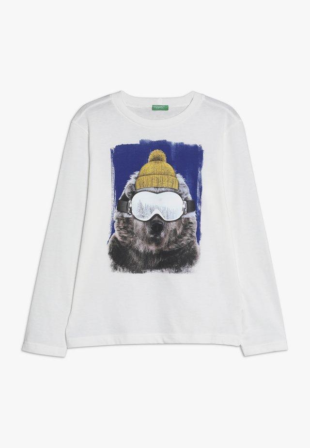 LONG SLEEVES - Langarmshirt - white
