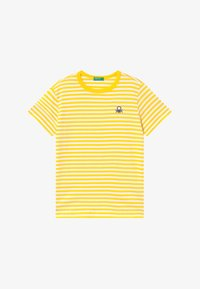 Benetton - T-shirt z nadrukiem - yellow - 2