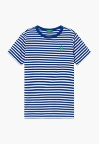 Benetton - T-shirt con stampa - blue - 0