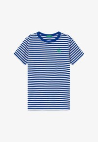 Benetton - T-shirt con stampa - blue - 2