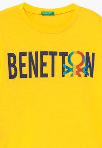Benetton - Maglietta a manica lunga - yelow - 3