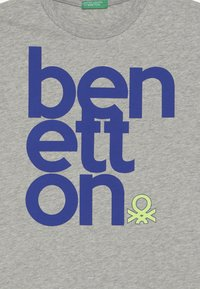 Benetton - Triko spotiskem - grey - 3