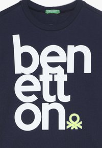 Benetton - T-shirt z nadrukiem - dark blue - 3