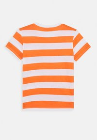 Benetton - T-shirt print - orange/off-white - 1