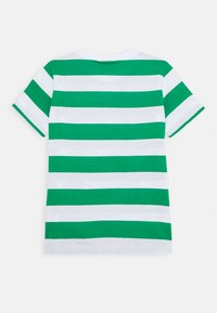Benetton - T-shirt z nadrukiem - green/white - 1