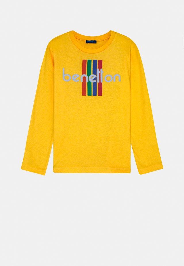 BASIC BOY - Camiseta de manga larga - yellow